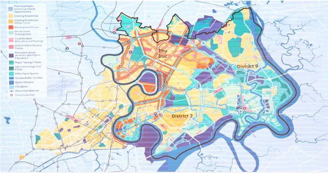 Khu đô thị sáng tạo ở TP HCM có 6 chức năng