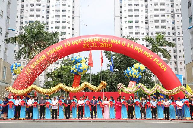Khánh thành tổ hợp chung cư nhà ở xã hội lớn nhất TP HCM