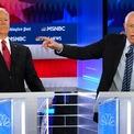 """<p class=""""Normal""""> Cựu Phó tổng thống Mỹ Joe Biden đẩy người về phía sau để tránh cái chỉ tay của Thượng nghị sĩ Bernie Sanders khi ông Sanders phát biểu trong cuộc tranh luận của các ứng viên cho chức tổng thống Mỹ thuộc đảng Dân chủ vào ngày 20/11. Đây là buổi tranh luận lần thứ 5 của các ứng viên này. Các ứng viên vẫn giữ quan điểm đôi khi là trái ngược và sự bất đồng nghiêm trọng về mặt chính sách, đặc biệt là về kế hoạch bảo hiểm y tế toàn dân hay còn gọi là chương trình Medicare for All - thứ được cho là sẽ tạo nên thay đổi toàn diện với hệ thống y tế Mỹ.<br /><br /><span>Trong khi đó, việc Tổng thống Donald Trump xuất hiện ở bang Louisiana và Kentucky gần đây để giúp các ứng viên ông ủng hộ tranh cử chức thống đốc bang càng khiến cử tri Dân chủ bất bình, ồ ạt đi bỏ phiếu làm Đảng Cộng hòa chịu hai thất bại lớn.</span><br /><br /><span>Cuộc tranh cử chức tổng thống Mỹ càng căng thẳng khi tỷ phú Michael Bloomberg ngày 21/11 nộp hồ sơ lên Ủy ban Bầu cử Liên bang để tham gia tranh cử năm 2020. Hiện ông đã được phép huy động tài chính để tranh cử. Ảnh: </span><em>Reuters</em><span>.</span></p>"""