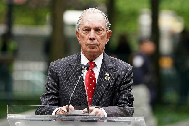 Tỷ phú Michael Bloomberg chính thức tranh cử tổng thống Mỹ năm 2020 từ ngày 24/11. Ảnh: Reuters.