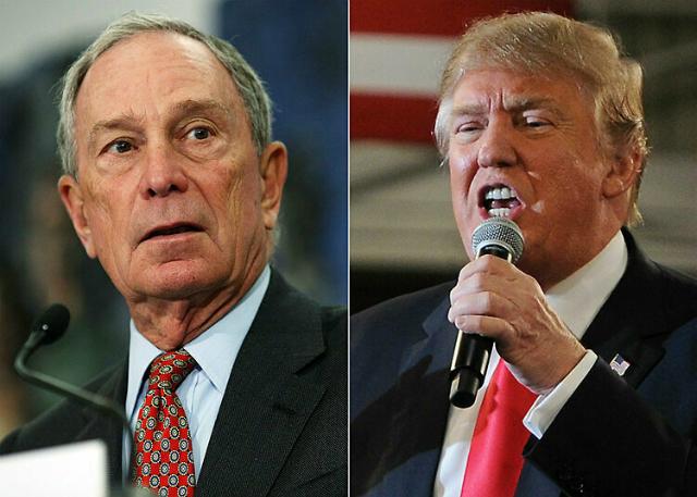 Phố Wall 'thích' Bloomberg hơn Trump
