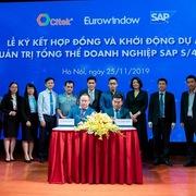 CITEK và Eurowindow ký kết và khởi động dự án chuyển đổi số với giải pháp quản trị doanh nghiệp SAP S/4HANA