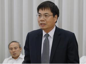 Ông Tô Mạnh Cường, tân Tổng giám đốc MobiFone. Ảnh: MobiFone.