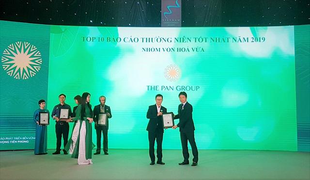 Tập đoàn PAN lập 'cú đúp' giải thưởng tại Cuộc bình chọn doanh nghiệp niêm yết 2019