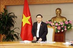 Phó Thủ tướng Vương Đình Huệ làm Trưởng Ban Chỉ đạo đổi mới và phát triển DN