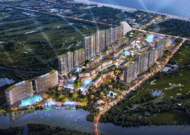 SHB là đơn vị độc quyền cho vay mua bất động sản tại Cocobay Đà Nẵng. Ảnh: SHB.