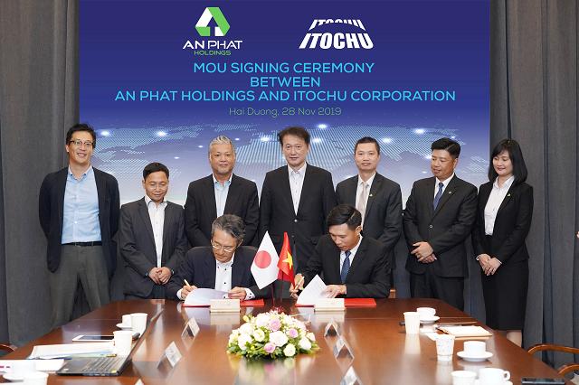 An Phát Holdings hợp tác toàn diện với Tập đoàn Itochu