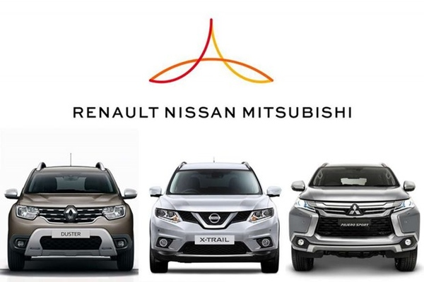 Liên minh Renault - Nissan - Mitsubishi 'đánh lái' mô hình hoạt động chung