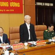 Tổng Bí thư, Chủ tịch nước chủ trì Hội nghị của Quân uỷ Trung ương