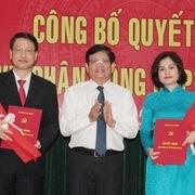 Bổ nhiệm nhân sự Đà Nẵng, Long An, Lạng Sơn