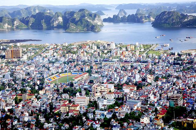 Dự ánkhu du lịch, dịch vụ, đô thị ven biển tại phường Quang Hanh, TP Cẩm Phả có diệntíchkhoảng 1.682 ha. Ảnh: Báo Quảng Ninh