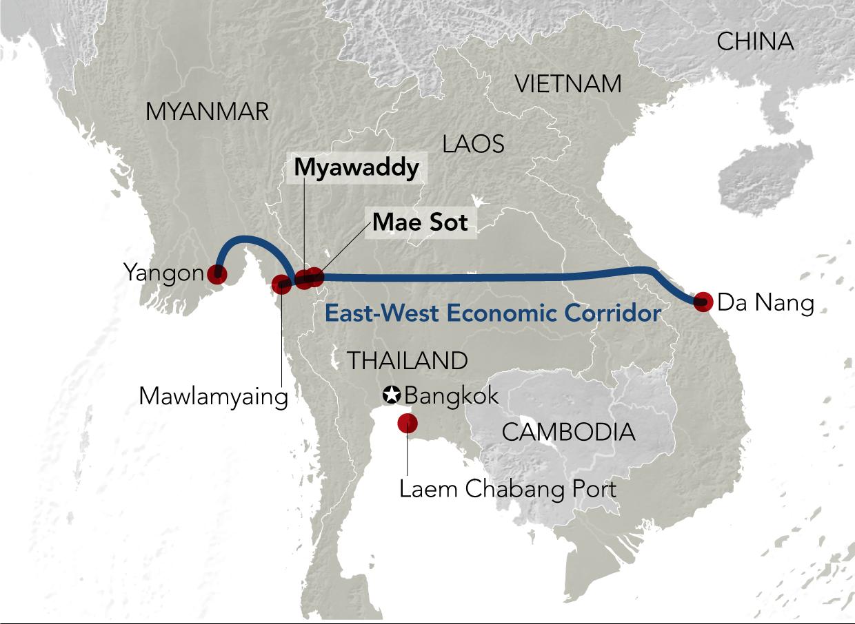 Hành lang Kinh tế Đông - Tây dần thành hình