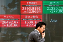 Chứng khoán châu Á tăng, nhà đầu tư chờ báo cáo việc làm của Mỹ