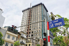 Thủ tướng yêu cầu Hà Nội xử lý dứt điểm vi phạm tại nhà 8B Lê Trực