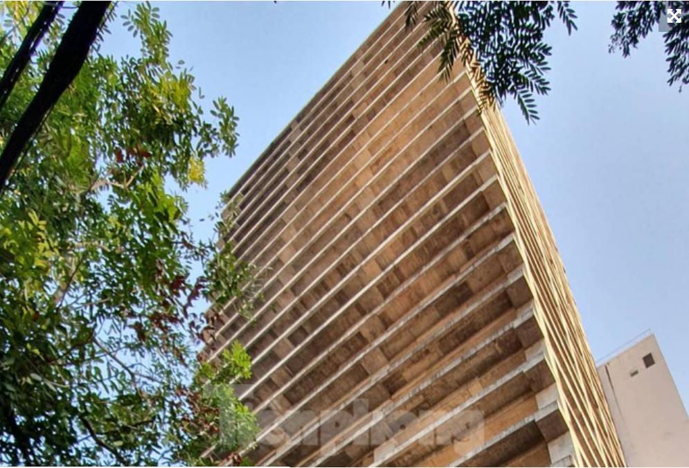 Tòa nhà 25 tầng bỏ hoang giữa trung tâm thành phố Hải Phòng
