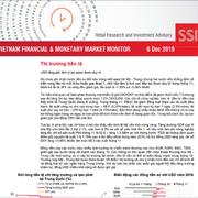 SSI Research: Báo cáo thị trường tài chính tiền tệ Việt Nam tháng 11/2019
