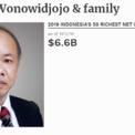 """<p class=""""Normal""""> <strong>4.<span> </span>Susilo Wonowidjojo và gia đình</strong></p> <p class=""""Normal""""> Tài sản: 6,6 tỷ USD</p> <p class=""""Normal""""> Susilo Wonowidjojo và gia đình đang điều hành doanh nghiệp sản xuất thuốc lá Gudang Garam do cha ông thành lập cuối thập niên 50 của thế kỷ trước. Tỷ phú Susilo bắt đầu tiếp quản công ty từ khi anh trai ông qua đời cuối năm 2008. (<em>Ảnh chụp màn hình</em>)</p>"""