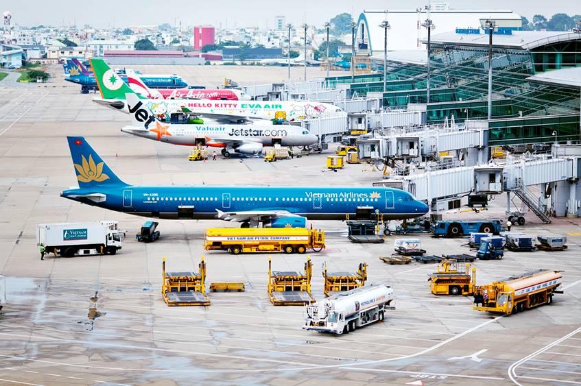 Công suất 22 sân bay Việt bằng 1 sân bay Thái