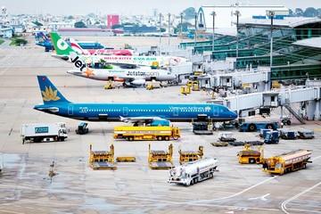 Tổng công suất 22 sân bay Việt bằng 1 sân bay Thái