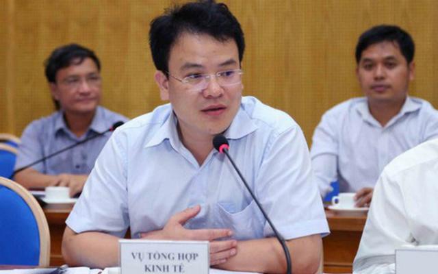Ông Trần Quốc Phương, tân Thứ trưởng Bộ Kế hoạch & Đầu tư.