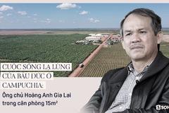 Cuộc sống lạ lùng của bầu Đức ở Campuchia: Ông chủ Hoàng Anh Gia Lai trong căn phòng 15 m2