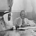 <p> Tháng 11/1933, công ty California Arabian Standard Oil được thành lập, đánh dấu khởi đầu của Saudi Aramco. Ảnh: <em>Saudi Aramco.</em></p>