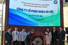 Hơn 34 triệu cổ phiếu Nhựa Hà Nội chính thức giao dịch tại HoSE