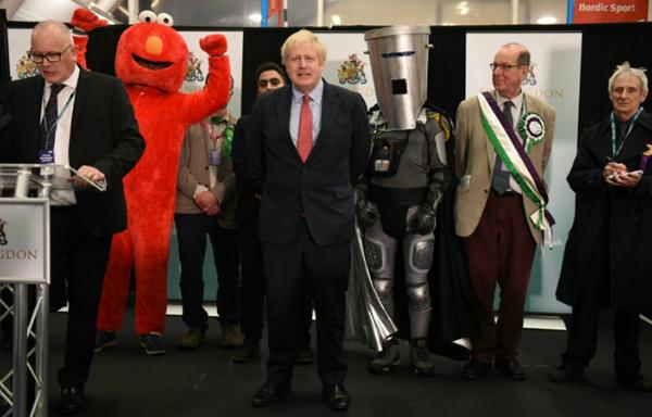 Đảng của Thủ tướng Anh Johnson cầm chắc chiến thắng trong cuộc tổng tuyển cử