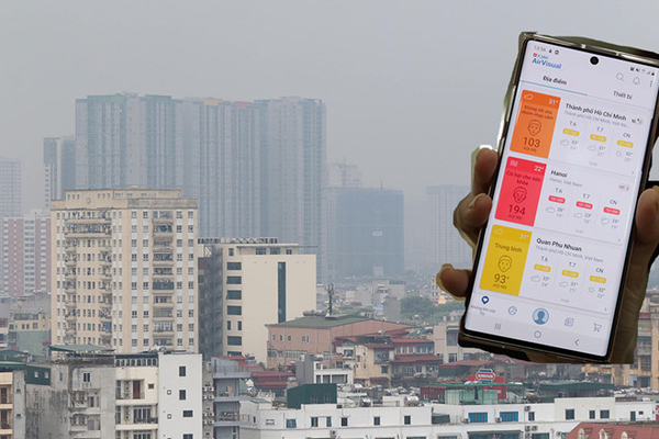 Hà Nội 'đội sổ' chất lượng không khí