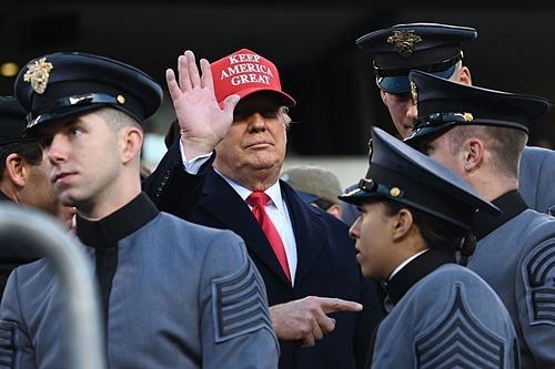 Tổng thống Mỹ Donald Trump tại Philadelphia hôm thứ bảy tuần qua. Ảnh: Zuma Press
