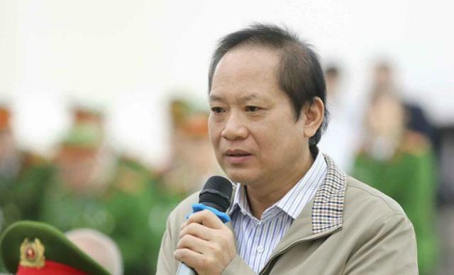 Ông Trương Minh Tuấn trong phiên tòa ngày 18/12. Ảnh: TTXVN