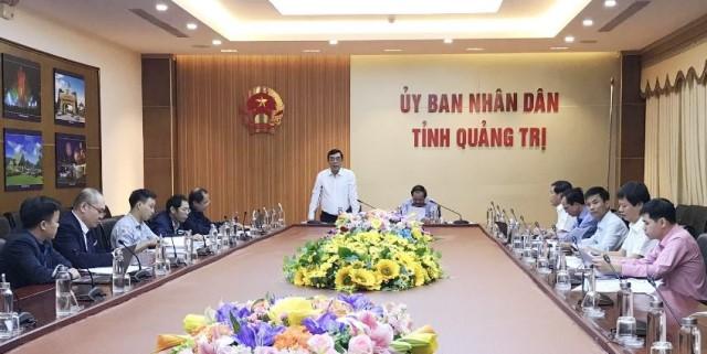 Doanh nghiệp đề xuất dự án nhà máy điện khí tại Khu kinh tế Đông Nam Quảng Trị