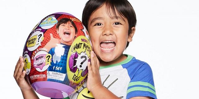 Cậu bé 8 tuổi 'bỏ túi' 26 triệu USD, dẫn đầu danh sách ngôi sao YouTube kiếm tiền nhiều nhất 2019
