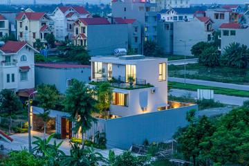Bên trong ngôi nhà mang phong cách ruộng bậc thang ở Ninh Bình
