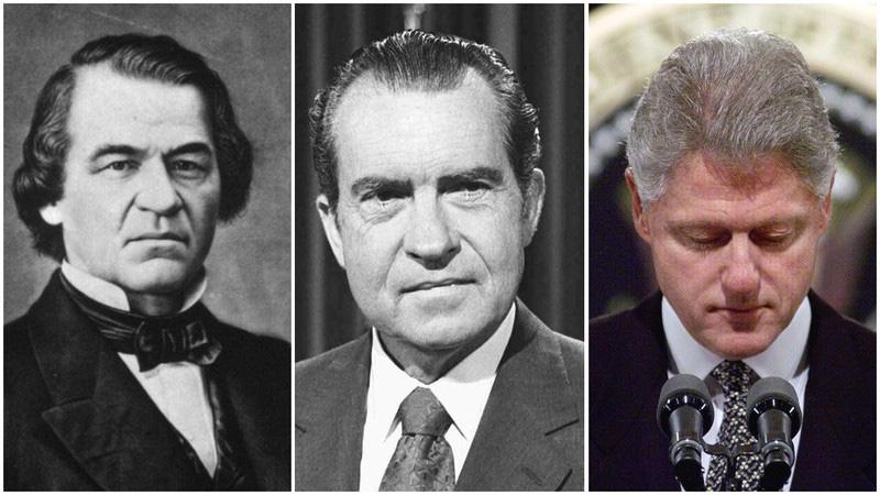 Trước Trump, những tổng thống Mỹ nào từng bị điều tra luận tội?