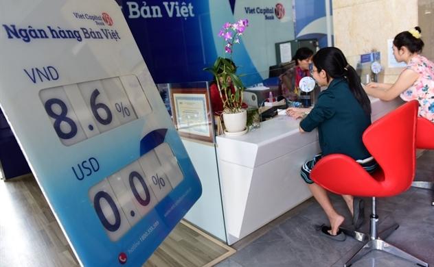 Bản Việt hạ lãi suất tại nhiều kỳ hạn.