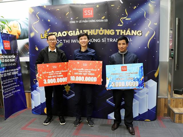 SSI trao giải cuộc thi 'Chứng sĩ tranh tài' vòng tháng 11