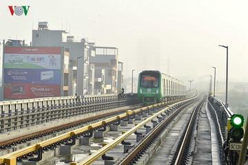 Bộ GTVT đang nghiệm thu từng phần tuyến đường sắt Cát Linh - Hà Đông