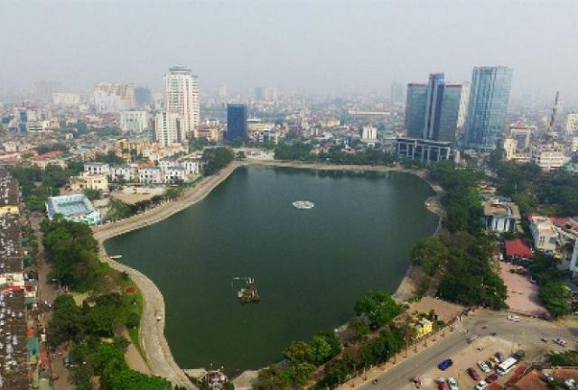 Hà Nội: Lại đề xuất 'lấp' hồ Thành Công xây chung cư