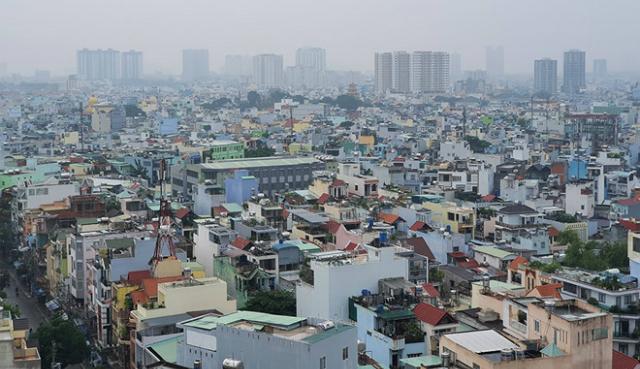 Ô nhiễm không khí đảo chiều, TP HCM 'vượt mặt' Hà Nội. Ảnh: Độc Lập