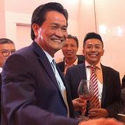 Ông Đặng Văn Thành xúc động trong ngày trở về Sacombank