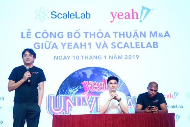 Yeah1 trích lập thêm gần 140 tỷ đồng cho ScaleLab