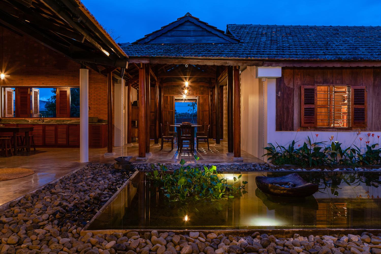Sau phục dựng, ngôi nhà truyền thống ở Củ Chi được so sánh với ốc đảo
