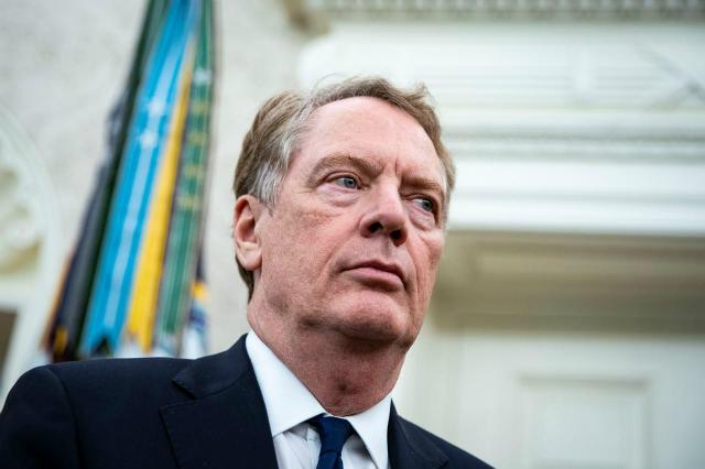Đại diện thương mại Mỹ Robert Lighthizer. Ảnh: Reuters.