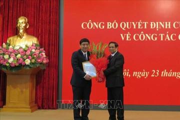 Bí thư Nghệ An giữ chức Phó Chánh Văn phòng Trung ương Đảng