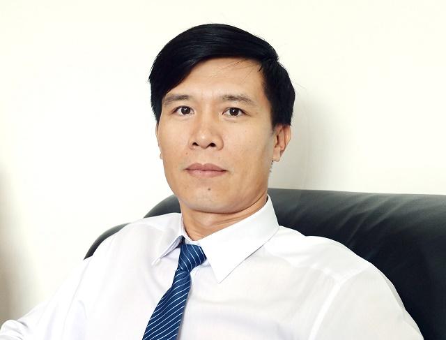 Ông Nguyễn Lê Trung, Tổng Giám đốc Nhựa An Phát Xanh. Ảnh: AAA
