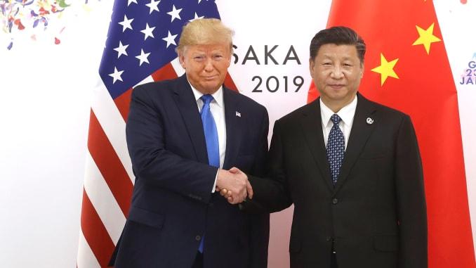 Trump: Sẽ có lễ ký thỏa thuận giai đoạn 1 với chủ tịch Trung Quốc