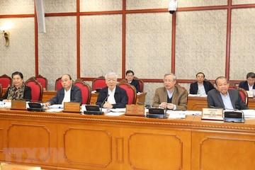 Quyết định một số nhân sự thuộc diện Bộ Chính trị quản lý