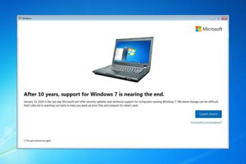 Windows 7 ngừng hỗ trợ, cần chuẩn bị gì?