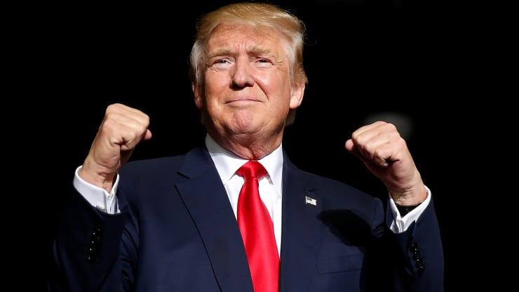 Phố Wall dưới thời Trump tốt hơn 2 lần so với trung bình các tổng thống tiền nhiệm